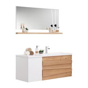 Schildmeyer Badmobelset Tico Spiegelschrank Waschtisch Becken