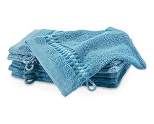 tukan 6Frottier Waschhandschuhe