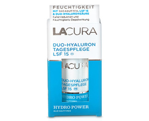 LACURA Duo-Hyaluron Gesichtspflege HYDROPOWER