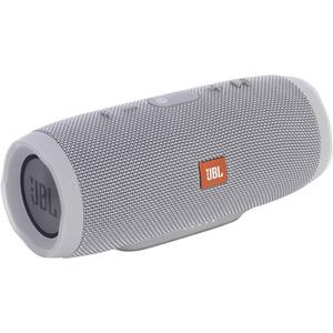 JBL Charge 3 (grau) - Tragbarer Bluetooth-Lautsprecher (20W, Bluetooth, Freisprechfunktion, spritzwassergeschützt)
