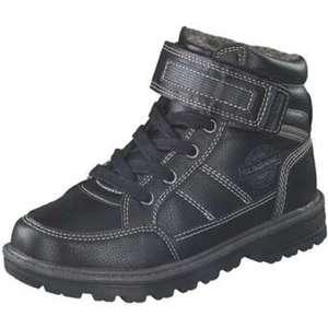 Sunshine Schnür Boots Jungen schwarz