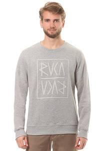RVCA Front Flip Crew - Sweatshirt für Herren - Grau