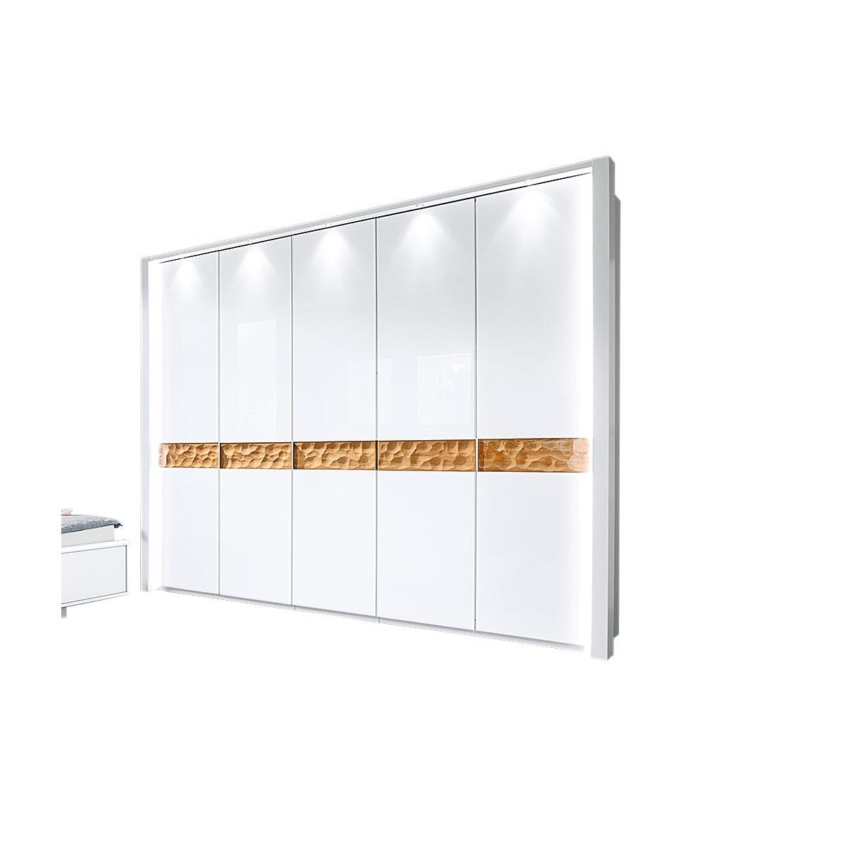 MONDO Schwebetürenschrank ARAME Alpinweiß Beleuchtet ca. 300 x 216 x 67 cm von porta Möbel ansehen