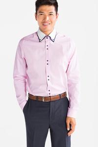 Angelo Litrico         Businesshemd - Slim Fit - Button down - gepunktet