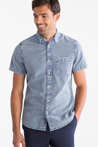 Angelo Litrico         Hemd - Slim Fit - Button down