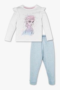 Disney Girls         Die Eiskönigin - Pyjama - Bio-Baumwolle - 2 teilig