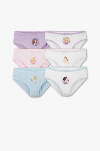 Disney Girls         Disney - Slip - Bio-Baumwolle - 6er Pack