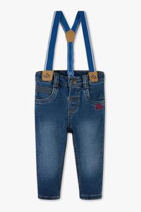 Baby Club         Baby-Jeans mit Hosenträgern