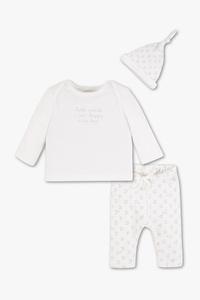 Baby Club         Erstlingsoutfit - Cradle to Cradle™ Gold-zertifiziert - 3 teilig