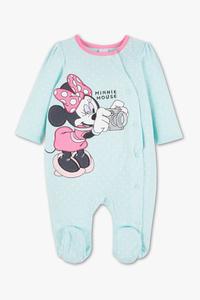 Disney Baby         Minnie Maus - Baby-Schlafanzug - Bio-Baumwolle
