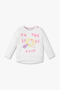 Baby Club         Baby-Sweatshirt - Bio-Baumwolle - Glanz Effekt