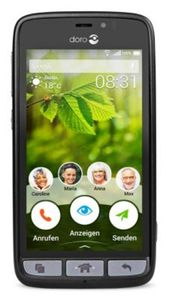 Doro 8031 schwarz/stahl