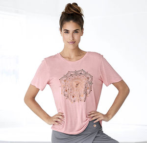 Damen-T-Shirt mit traumhaftem Mandala