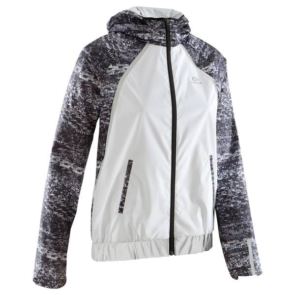 Laufjacke Run Rain Night Damen weiß