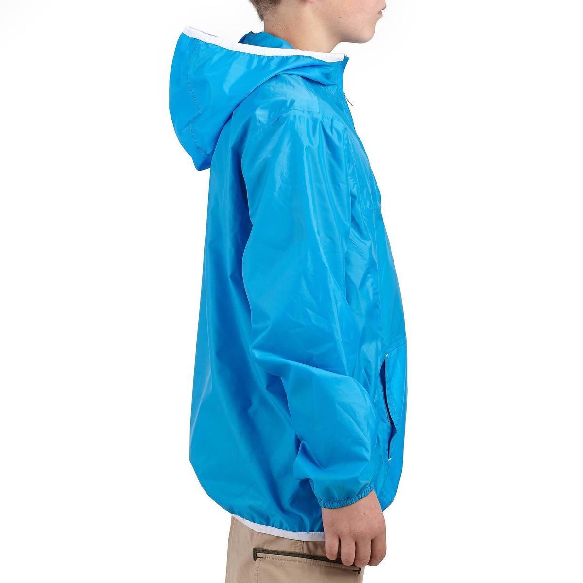 Bild 4 von Wanderjacke Hike 100 Kinder blau
