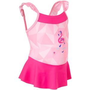 Badeanzug mit Röckchen Baby Mädchen Print Flamingo