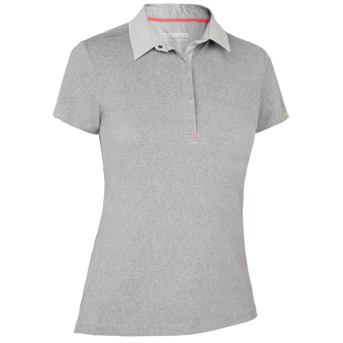 Bild 1 von Poloshirt kurzarm Segeln Race Damen grau