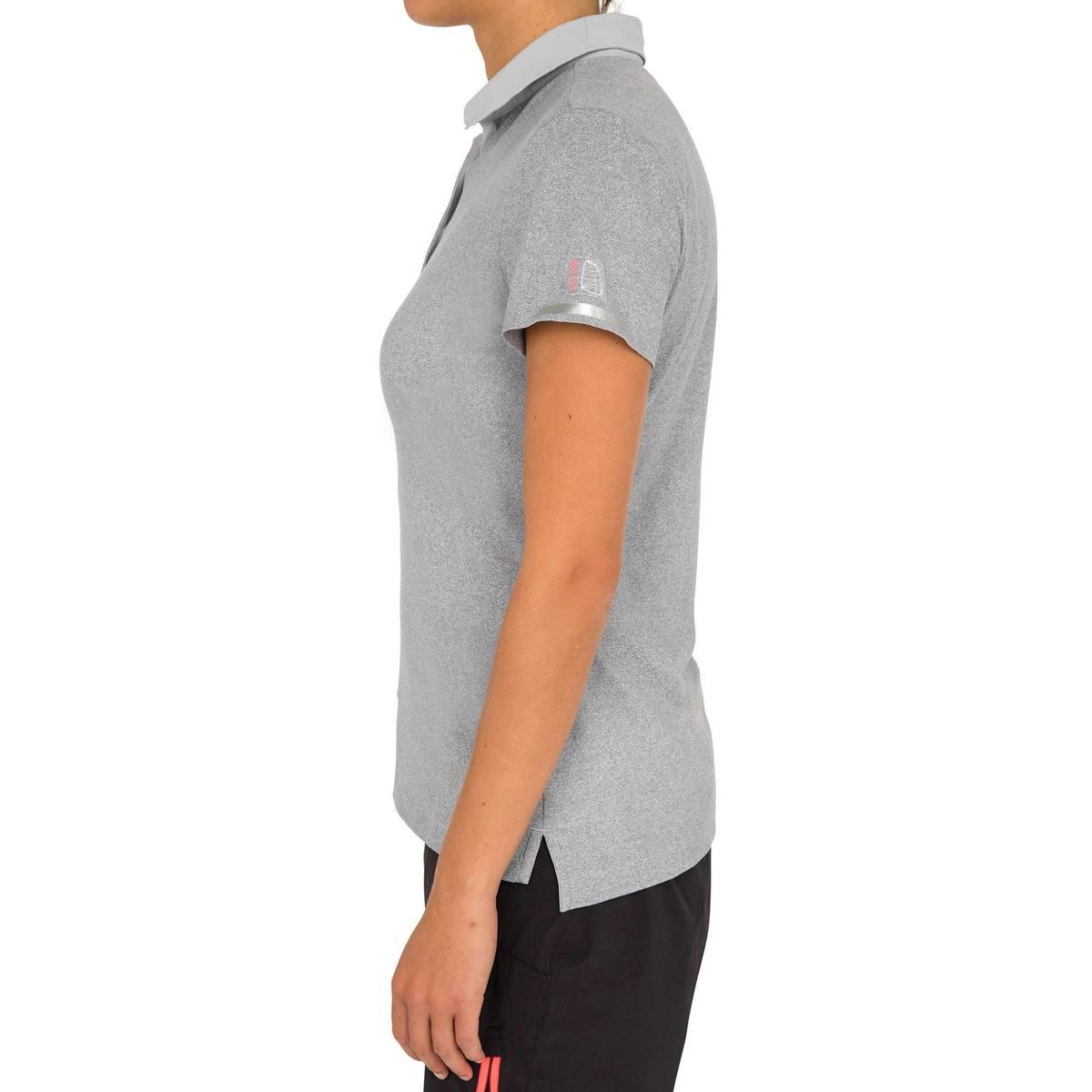 Bild 3 von Poloshirt kurzarm Segeln Race Damen grau