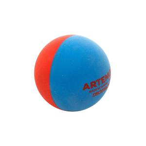 Beachtennis-Ball rot/blau