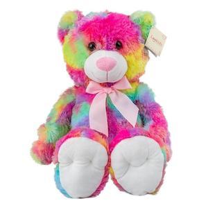 Teddy Regenbogenfarben 50 cm