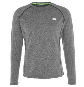 manguun sports             Laufshirt, lang, atmungsaktiv, schnelltrocknend, für Herren