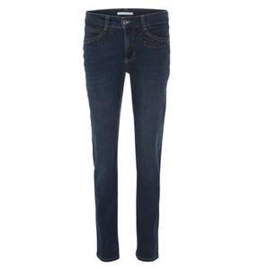 """MAC             Jeans """"Angela"""", Regular-Fit, Strass, Waschung"""