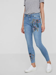 FLORALE ANKLE JEANS