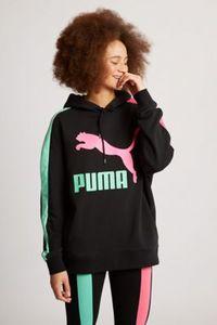 Puma Classics Logo T7 Over The Head - Damen Hoodies