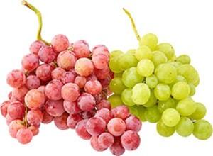 Trauben weiß oder rot