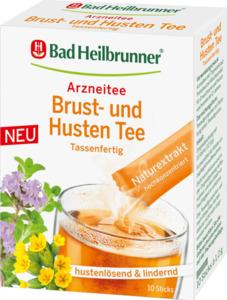 Bad Heilbrunner Arzneitee im Stick, Brust- & Husten-Tee, mit Thymiankraut und Primelwurzel