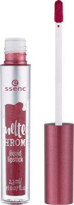 essence cosmetics Lippenstift melted chrome liquid lipstick alu-mine-um 05