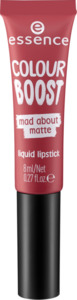 essence cosmetics Lippenstift colour boost mad about matte liquid lipstick mad matters 04