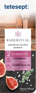 tetesept Baderitual Orientalisches Hamam 20ml Bad + 40g Peeling