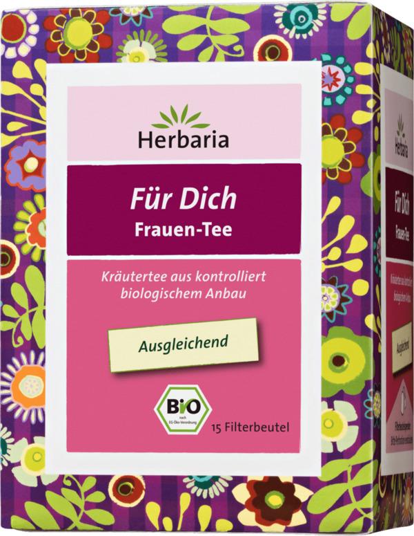 herbaria kräuter-tee für dich - frauentee mit frauenmantel