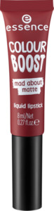 essence cosmetics Lippenstift colour boost mad about matte liquid lipstick magnetic gloom 09
