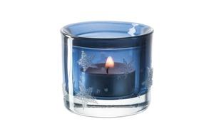 Glas Koch - Tischlicht Stellato in blau, 6 cm