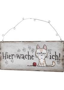 "Türschild ""Katze"""