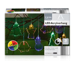 CASADeco LED-Acrylvorhang