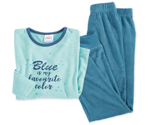 alive®  Kinder-Schlafanzug, Frottee