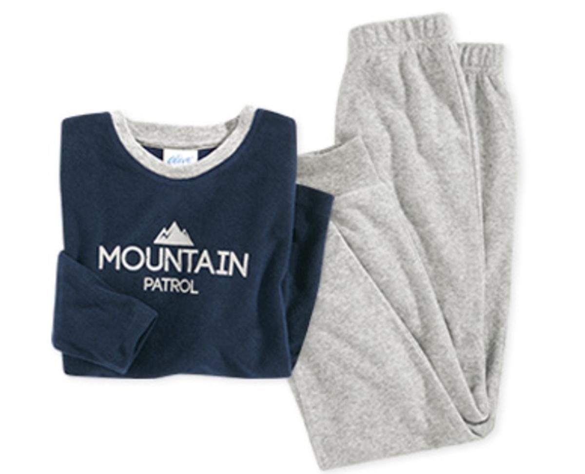 Bild 3 von alive®  Kinder-Schlafanzug, Frottee