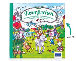 Märchenbuch mit CD