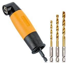 WORKZONE®  Winkel-Bithalter/-Bohrvorsatz
