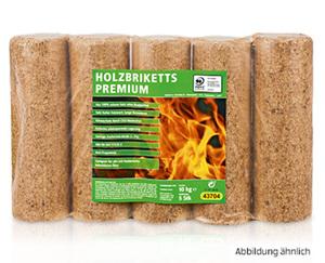Holzbriketts, Premium