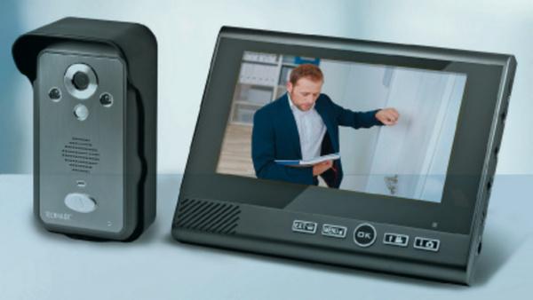 TECHNAXX Video-Türsprechgegenanlage TX-59