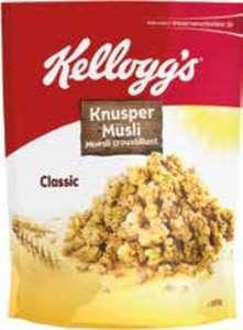Kelloggs Müsli