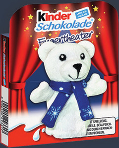 Kinder Schokolade Fingertheater