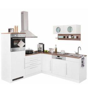 kleink che cucina compact 224 cm mit tresen in verschiedenen farben von ansehen. Black Bedroom Furniture Sets. Home Design Ideas