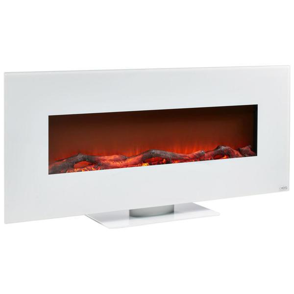 xora elektrokamin glas metall wei von xxxlutz f r 199. Black Bedroom Furniture Sets. Home Design Ideas