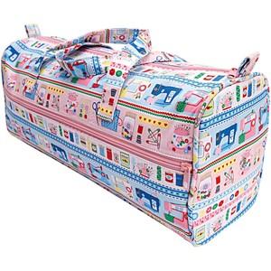 Rico Design Tasche mit Wollspender mehrfarbig 15x42x17,5cm