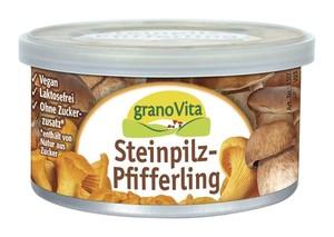granoVita  Veganer Brotaufstrich Steinpilz-Pfifferling 125 g
